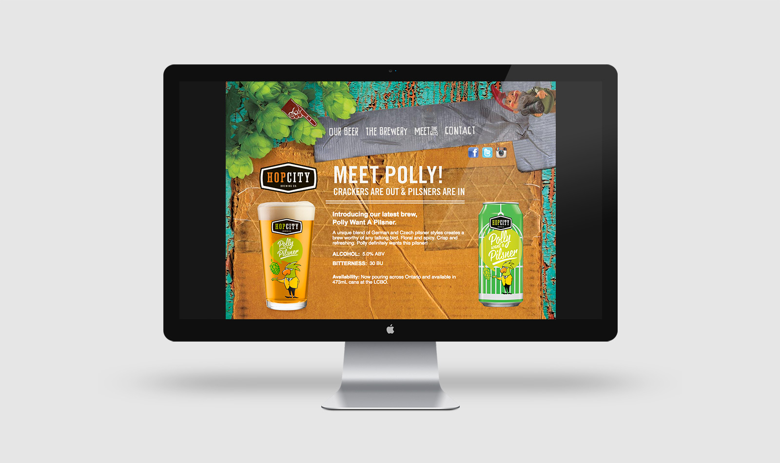 Hop City - Web Site