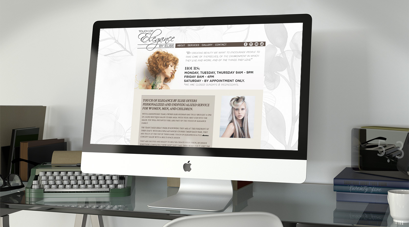 Touch of Elegance - Web Design