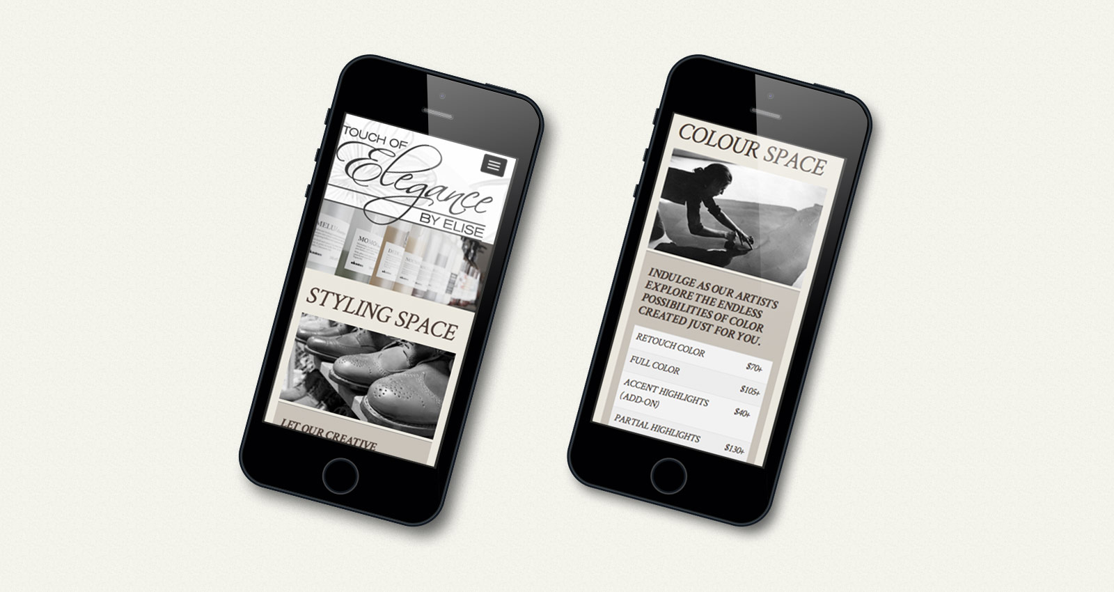 Touch Of Elegance - Responsive