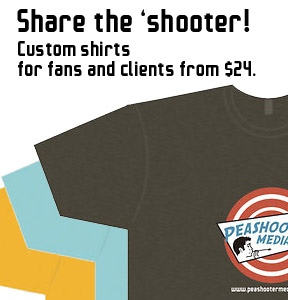 Peashooter T-shirts
