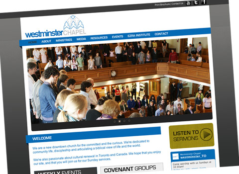Westminster Chapel Website