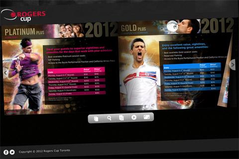 Rogers Cup Toronto Flipbook
