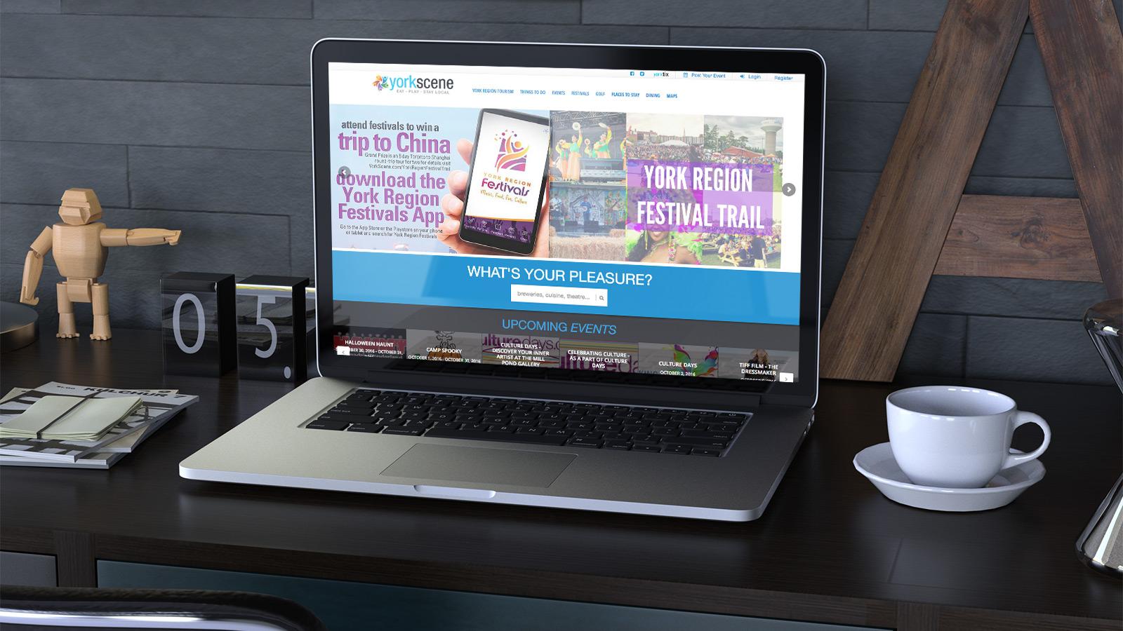 York Scene - Web Site