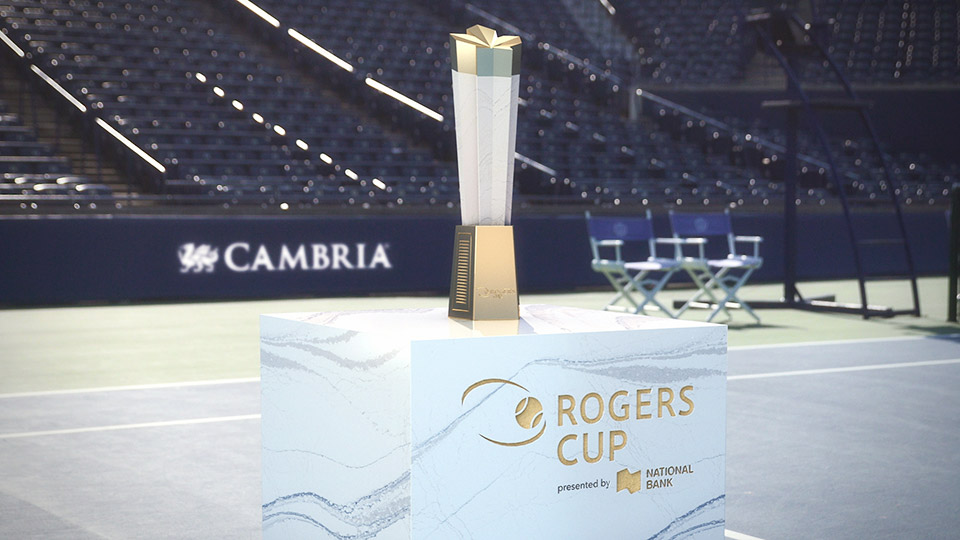 Cambria, Yabu Pushelberg, Rogers Cup